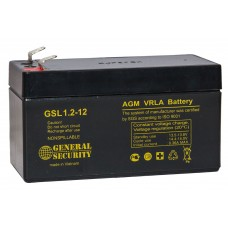 Аккумулятор 12V 1,2Ah GS свинцовый
