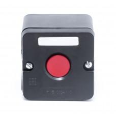 Пост кнопочный ПКЕ 222/1 красный гриб (без сальников)