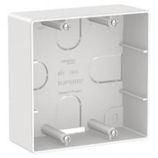 BLANCA коробка подъемная для силовых розеток, белый