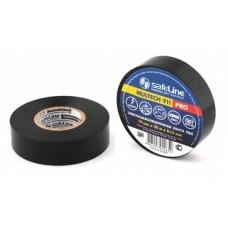 Изолента ПВХ 19 мм-20м черная Safeline