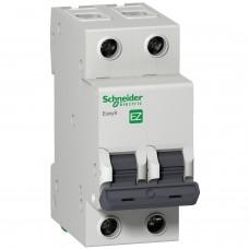 Выключатель автоматический 2п C 50А 4.5кА EASY 9 SchE EZ9F34250
