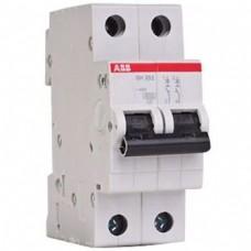 Выключатель автоматический 2п C 50А SH202L 4.5кА ABB (SH202L C50)