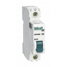 Выключатель автоматический однополюсный 3А С ВА-101 4.5кА DEKraft