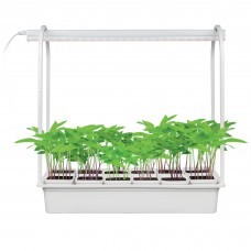 "Uniel Набор ""Минисад"" светильник для растений с подстав. ULT-P34-10W/SPLE IP40 WHITE 12"