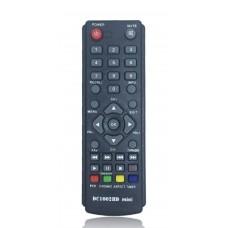 Пульт аналог D-COLOR DC1002HD mini (UNIT, UNIT II) (DVB-T2) цифровой ресивер (POWER+TEXT)