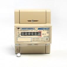 Счетчик электроэнергии СЕ 101 R5 145 М6 1ф 5-60А 1 класс точн., мех. экран, DIN-рейка