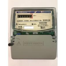 Счетчик электроэнергии трехфазный однотарифный ЦЭ-6803В 100/10 Т1 D+Щ кл1 М7 Р32 220/380В ОУ