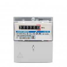 Счетчик электроэнергии CE101 R5.1 145 M6 однофазный однотарифный, 5(60), кл.точ. 1.0, D+Щ, ЭМОУ