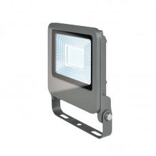 Uniel Прожектор светодиодный ULF-F17-30W/DW IP65 195-240В 6500K Дневной свет, корпус серебристый