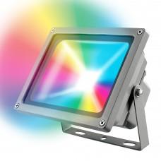 Volpe Прожектор светодиодный Мультиколор с пультом ДУ ULF-Q511 30W/RGB IP65 220-240В BLACK