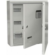 Корпус щита учета под 3-ф счет. 2 двери ЩУ-3/1-1 IP54 ИЭК MKM51-N-09-54