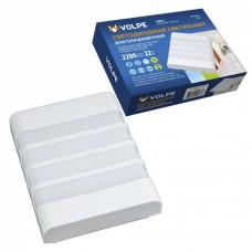 Volpe Светильник светодиодный влагозащищенный прямоуг ULW-Q280 22W/4000K/S01 IP65 White 200x160x58мм