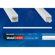 Uniel Светильник линейный светодиодный с выключателем ULI-E01-10W/DW/K WHITE Дневной св. 6000K 850Лм