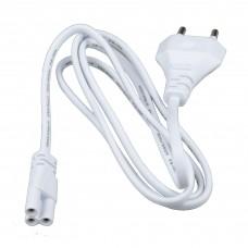 Uniel Провод для подключения светильников к сети (ULI-E01-7W/DW/K) 220В, 120см, белый
