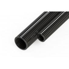 Труба гофрированная ПНД DKC d16мм легкая без протяжки (черная)