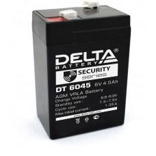 Аккумулятор DELTA 6В/4.5 А/ч