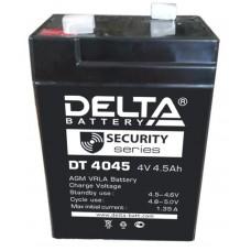 Аккумулятор 4V 4.5Ah DELTA свинцовый