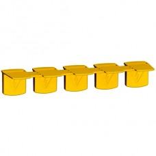 Колпачки изолирующие для гребенчатых шинок (A9X) 5шт