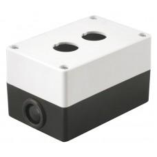 Корпус КП 102 2-м. бел. для кнопок ИЭК BKP10-2-K01