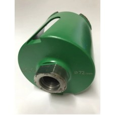 Сверло алмазное для подрозетников d72 ECO-D50 72/65 M16 R 4L