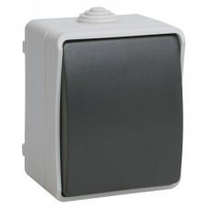 ФОРС Выключатель одноклавишный наружный IP54 (IEK) ВС20-1-0-ФСр