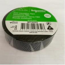 Изолента ПВХ 19мм 20м черная (SchE)