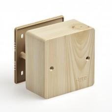 Коробка универс. для кабель-кан. 85х85х45 сосна (свет. основа) Рувинил 65015-27М