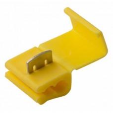 Соединитель проводов зажим желтый