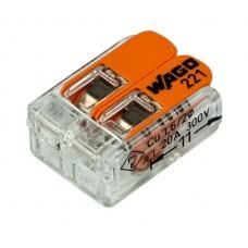 221-412 Клемма WAGO 2-проводная