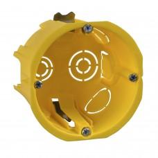 Коробка установочная СП 65х45мм для полых стен мет.лап. (SchneiderElectric)