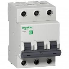Выключатель автоматический 3п C 50А 4.5кА EASY 9 SchE EZ9F34350