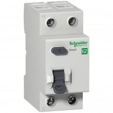 Выключатель дифференциального тока (УЗО) 2п 25А 30мА тип AC EASY 9 SchE EZ9R34225