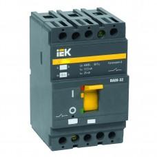 Выключатель автоматический 3п ВА88-32 100А 25кА РЭ1000А (IEK)