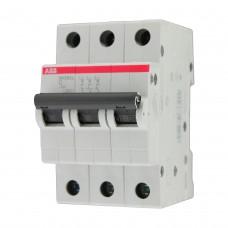 Выключатель автоматический 3п C 16А SH203L 4.5кА ABB (SH203L C16)