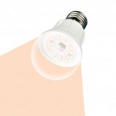 "Uniel Лампа светодиод. для растений LED-A60-10W/SPFR/E27/CL PLP01WH Форма ""A"", прозрачная колба"