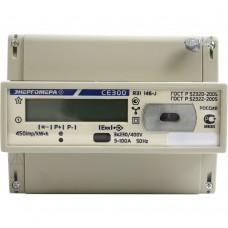 Счетчик электроэнергии трехфазный однотарифный CE300 R31 100/5 T1 D 230/400B ЖК (Энергомера)