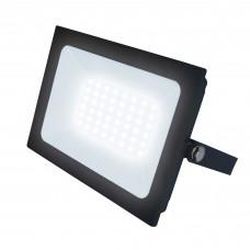 Uniel Прожектор светодиодный ULF-F21-50W/6500K IP65 200-250В Дневной свет, корпус черный