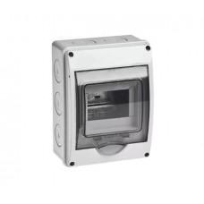 Щит о/п на 5 модуля с прозрачной дверцей 150х200х98 Рувинил