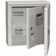 Корпус щита учета под 1-ф счет. 2 двери ЩУ-1/1-1 IP54 ИЭК MKM51-N-04-54