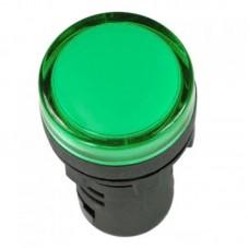 Лампа сигнальная светодиодная зеленая AD22DS