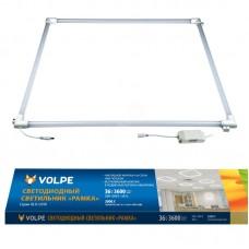 Volpe Светильник светодиодный потолочный рамка, компл. и/п ULO-Q190 6060-36W/6500K Дневной свет.