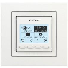 Терморегулятор terneo pro unic, белый