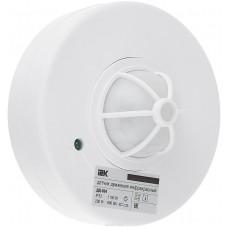 Датчик движения ИК потолочный 1100Вт 360гр. 7м. IP33 белый (IEK) ДД 024
