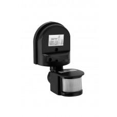 Датчик движения ИК настенный 1100Вт 180гр. 12м. IP44 черный (IEK) ДД 008-1100-002