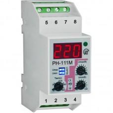 Реле напряжения РН-111 однофазное регулируемое DIN 2 модуля S