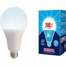 Volpe Лампа светодиодная, матовая LED-A95-30W/4000K/E27/FR/NR белый свет Серия Norma